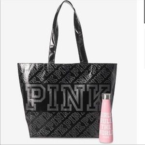 S'well water bottle and reusable tote bag 👜